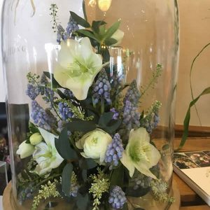 bell jar woodland wedding