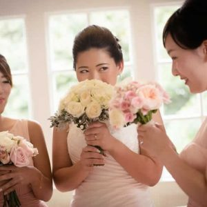 bridesmaids wedding flowers