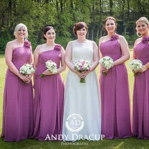 dusky lilac rose wedding flowers