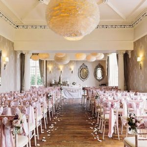 weddingchairbowrosegoldhireyorkshire