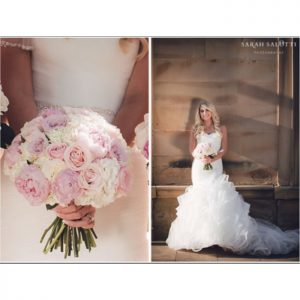 weddingflowerscompactrosepeonybouquet