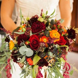 autumnbridesweddingbouquet