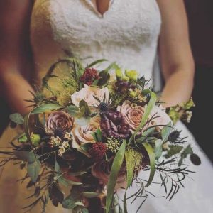 mauveduskypinkweddingflowers